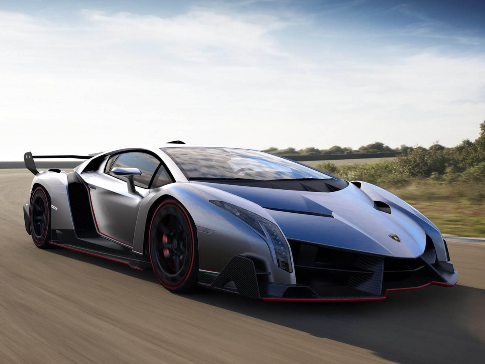 Lamborghini Veneno hypercar revealed