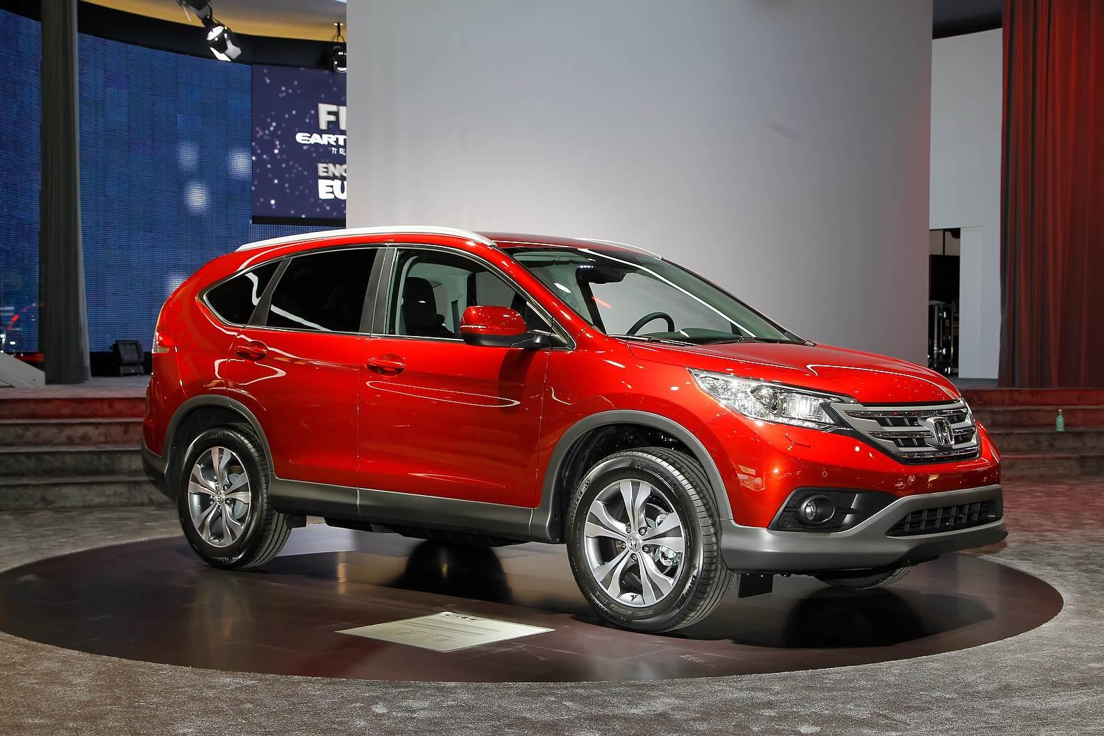 Honda showcases diesel CR-V at Geneva