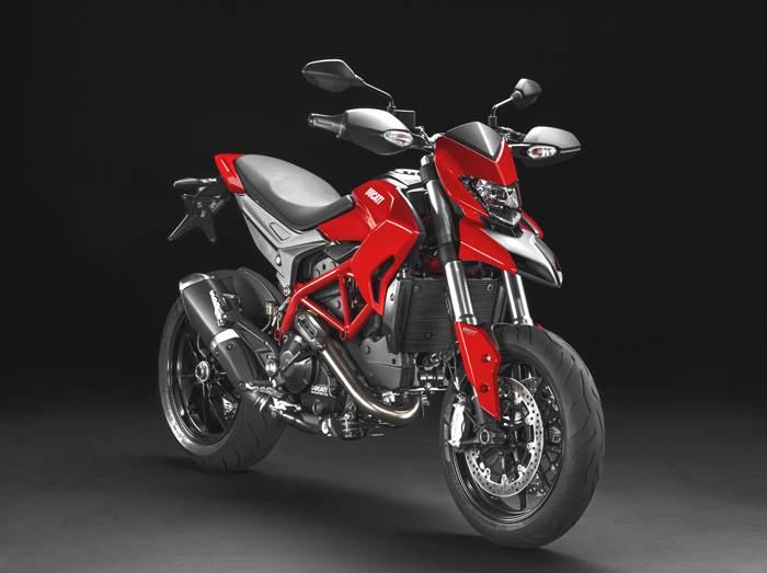 Ducati in hyper mode