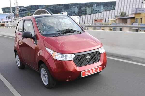 Mahindra e2o review, test drive and video