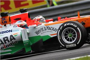 Force India extends Mercedes engine deal