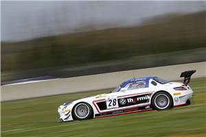 Chandhok finishes sixth on FIA GT debut