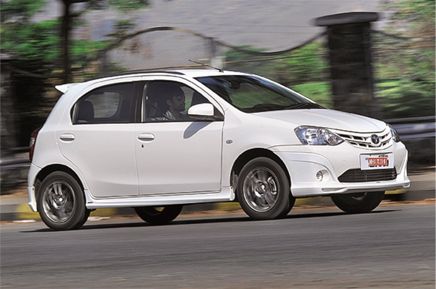 toyota etios liva trd sportivo review test drive autocar india. Black Bedroom Furniture Sets. Home Design Ideas