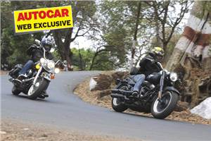 Harley-Davidson Fat Boy Special, Heritage Softail Classic, test ride, review