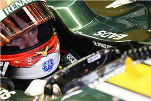 Kovalainen back in action for Caterham
