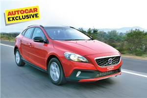 2013 Volvo V40 Cross Country review, test drive