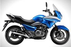 Suzuki unveils semi-faired Inazuma