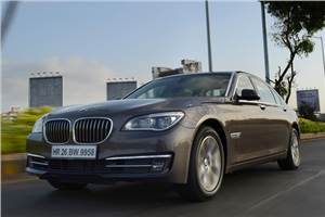 BMW 7-series facelift review, test drive