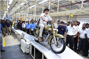 Royal Enfield's new plant commences