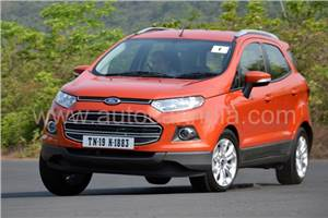 Ford EcoSport EcoBoost petrol review, test drive