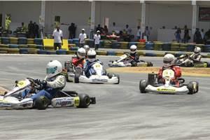 Rotax Kart Open 2013: Nayan seals victory