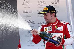 F1: Alonso takes commanding home win