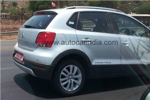 VW CrossPolo spied in India