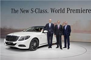 All-new 2014 Mercedes S-class officially revealed