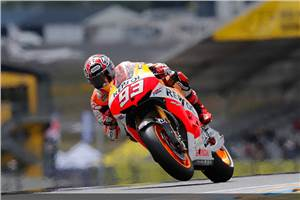 MotoGP: Marquez takes second career pole