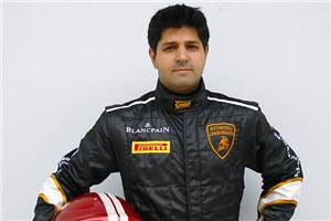Amer Beg to drive in Super Trofeo Asia series