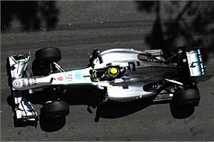 Monaco GP: Rosberg fastest in FP2