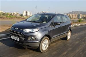 Ford EcoSport diesel review, test drive