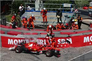 Suspension failure caused Massa crash