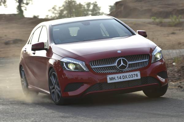 Mercedes A-class petrol review, test drive and video