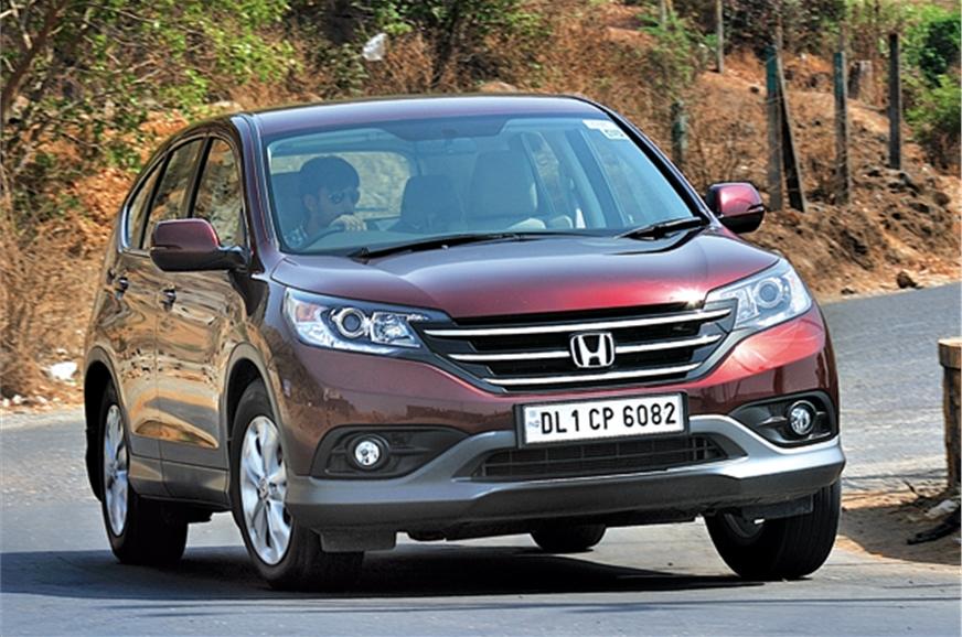 New 2013 honda cr v 2 0 review test drive autocar india for Honda crv india