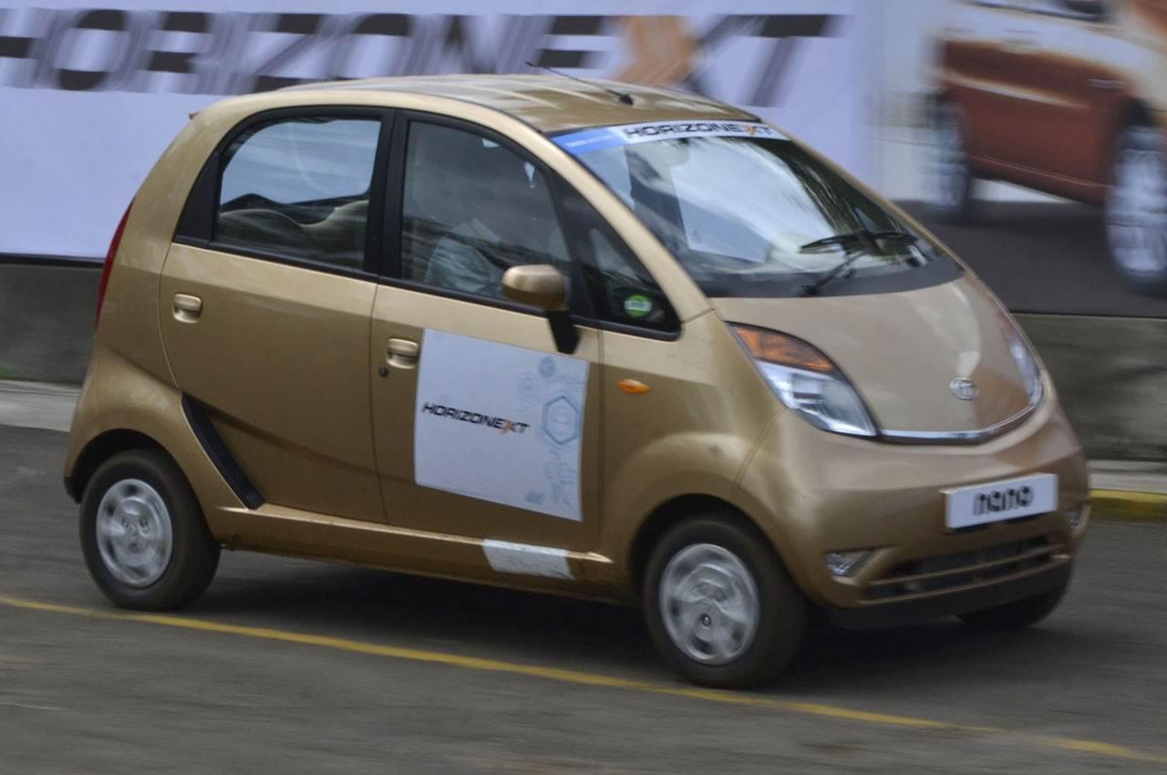 Tata Nano 2013 review, test drive