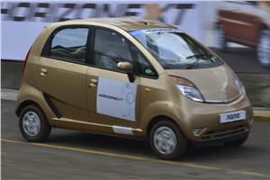 Tata Nano 2013 review, test drive