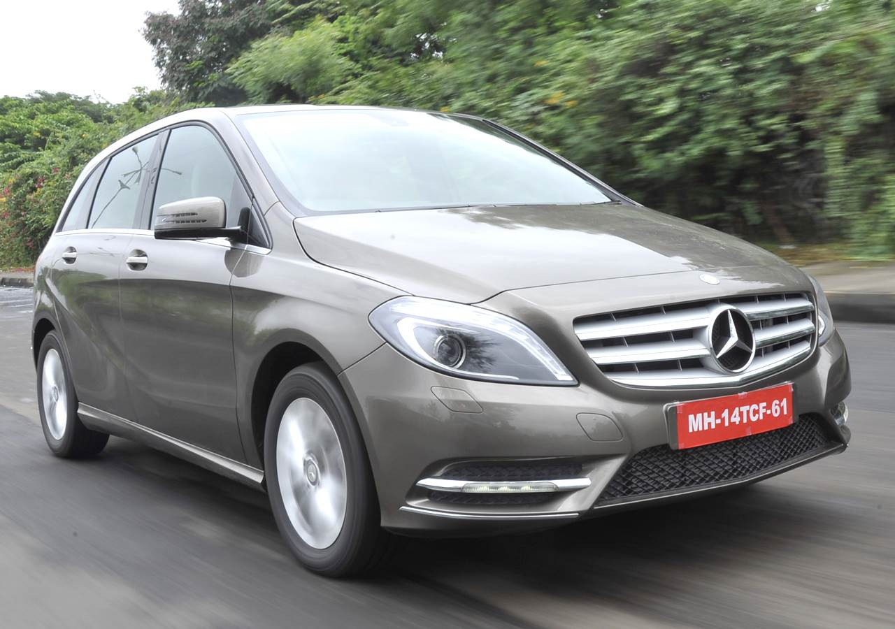 2013 Mercedes B 180 CDI review, test drive
