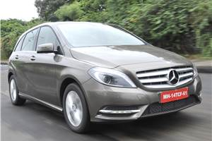2013 Mercedes B 180 CDI review, test drive