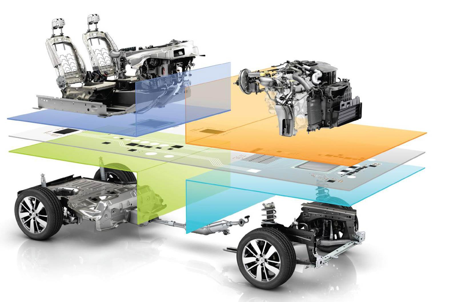 Renault-Nissan unveils Common Module Family