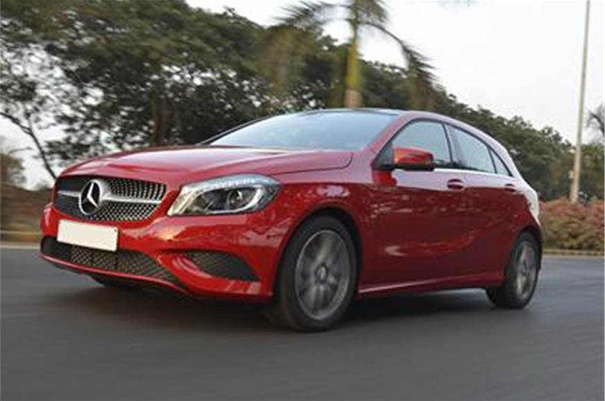 2013 mercedes a 180 cdi review test drive autocar india. Black Bedroom Furniture Sets. Home Design Ideas