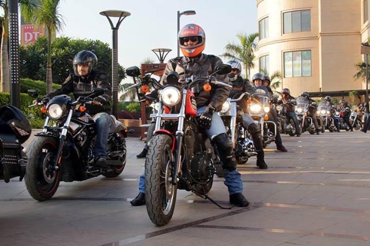 Harley-Davidson munches miles