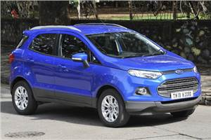 Ford EcoSport PowerShift Automatic review, test drive