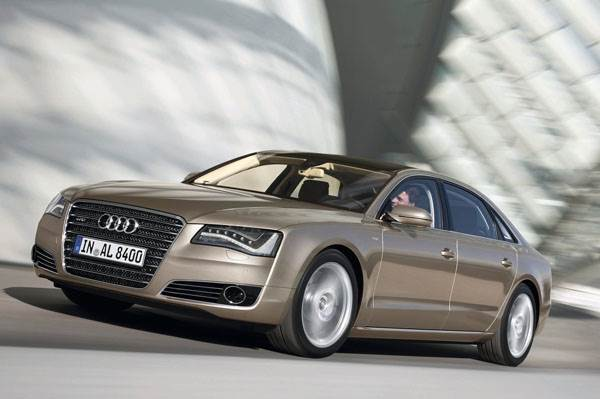 Audi A8 facelift in the works