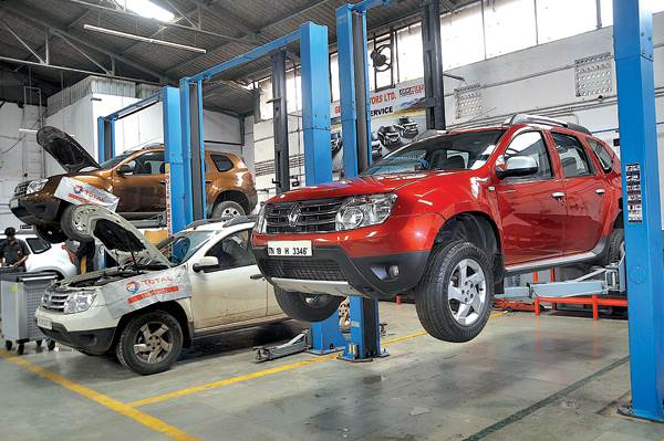 Renault Duster (third report)