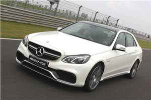 2013 Mercedes E 63 AMG review, test drive