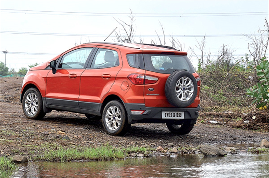 ford ecosport review test drive autocar india. Black Bedroom Furniture Sets. Home Design Ideas