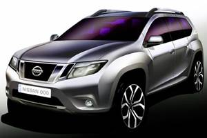 Nissan Terrano to be unveiled on August 20 in India