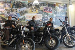 Harley-Davidson's freedom party