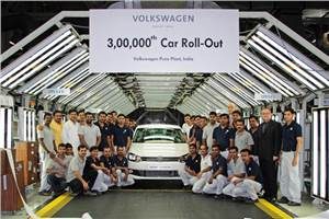 3,00,000th VW rolls out from Pune