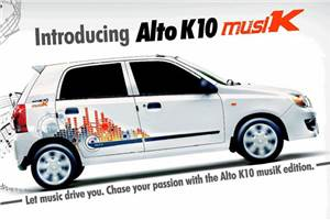 Maruti Alto K10 'Musik' edition launched