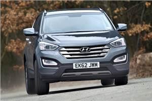 New Hyundai Santa Fe review, test drive