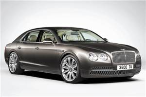 New Bentley Flying Spur launched at Rs 3.1 crore