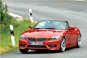 New 2013 BMW Z4 sDrive35is review, test drive
