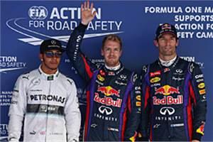 Korean GP: Sebastian Vettel beats Hamilton to pole