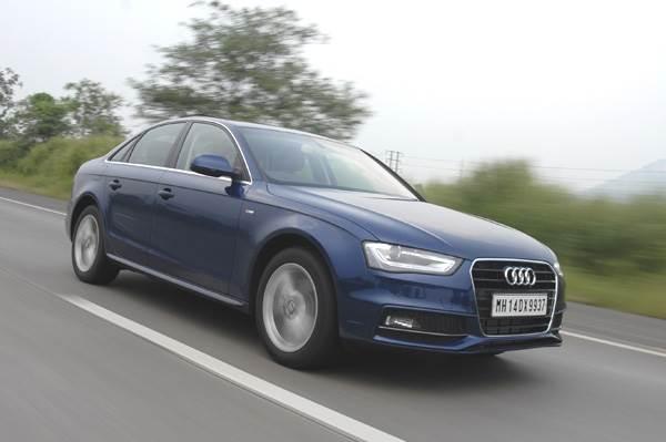 New 2013 Audi A4 2.0 TDI 174bhp review test drive