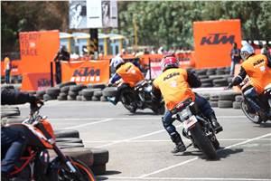 KTM Orange Day back in Mumbai