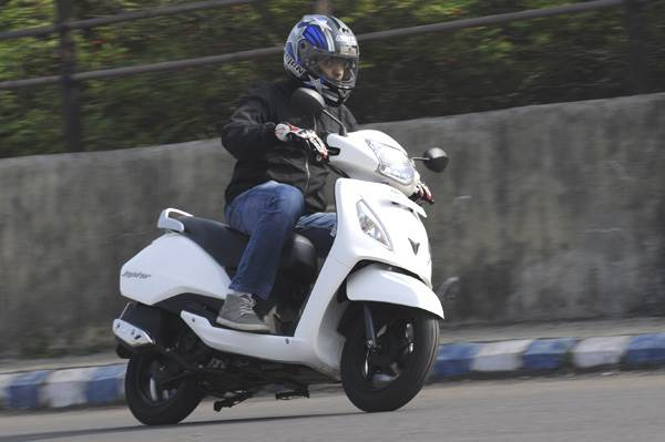 TVS Jupiter review, test ride