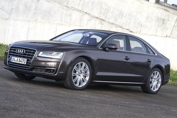 2013 Audi A8 facelift review, test drive