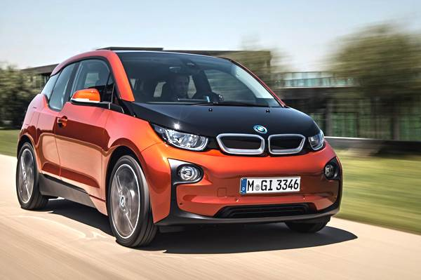 2013 BMW i3 electric review, test drive